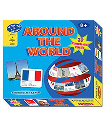 Sterling Think & Link Around The World Card game