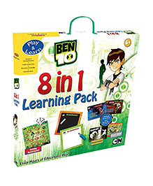 Sterling Ben 10 8 in 1 Learning Pack