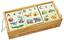 Little Genius - Wooden Alphabetic Puzzle