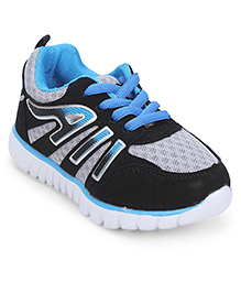 Cute Walk Sport Shoes Lace Up Style - Blue And Grey