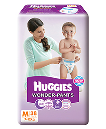 Huggies Wonder Pants Medium Size Pant Style Diapers - 38 Pieces