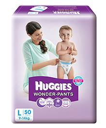 Huggies Wonder Pants Large Pant Style Diapers - 50 Pieces