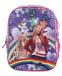 Disney Hannah Montana School Bag - Purple