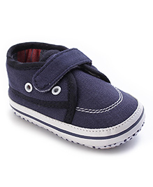 Cute Walk Shoes Style Booties - Navy