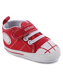 Cute Walk Bootie Style Shoe - Tan