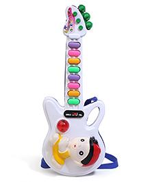 Prasid Mini Guitar - Purple And White
