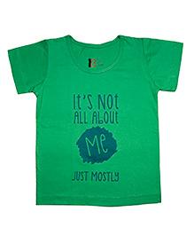 Plan B Printed T-Shirt - Green
