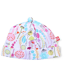 Zutano Trendy Print Adorable Cap - Multicolor