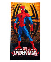 Marvel Spiderman Bath Towel Gift Box - Multi Color