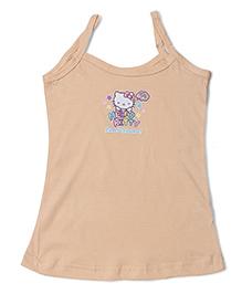 Hello Kitty Singlet Slip - Beige