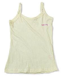 Hello Kitty Singlet Slip - Light Yellow
