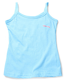 Hello Kitty Singlet Slip - Sky Blue