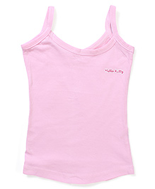 Hello Kitty Singlet Slip  - Light Pink