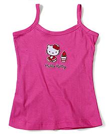 Hello Kitty Singlet Slip - Pink