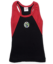 Ben 10 Printed Vest - Red and Black