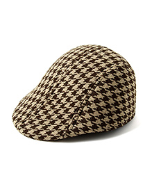 Little Hip Boutique Stylish Beret Cap - Brown & Beige