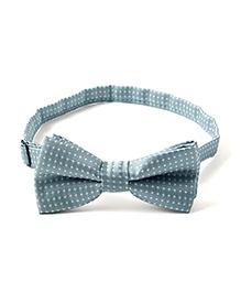 Little Hip Boutique Dotted Bow Tie - Blue