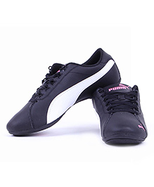 Puma Tie Up Style Sports Shoes - Black
