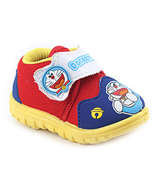Doraemon Casual Shoes - Red Royal Blue