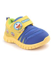 Doraemon Casual Shoes - Yellow Blue