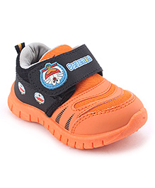Doraemon Casual Shoes - Orange Black