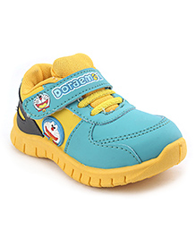 Doraemon Casual Shoes - Yellow Aqua Blue
