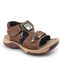 Ben 10 Sandals With Velcro Closure - Light Brown