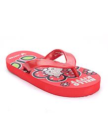 Hello Kitty Flip Flop - Red
