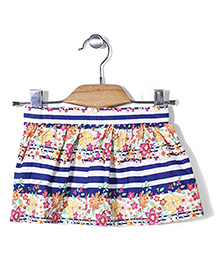 Beebay All Over Floral Print Skirt - Multi Color