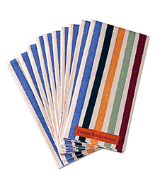 IHR Stripe Print Pocket Tissues - Multicolour