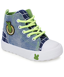 Cute Walk Casual Slip-On Shoes - Light Blue Green