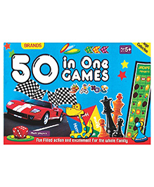 Brands 50 Games in 1 - Multicolor