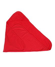 OHMS Hooded Bath Towel - Red