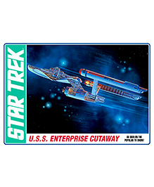 Amt USS Enterprise Cutaway Plastic Model Kit