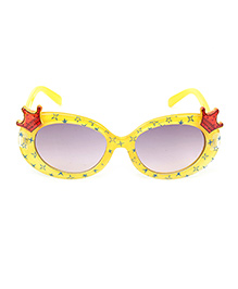 Stol'n Kids Sunglasses Crown Motif - Red and Yellow