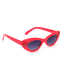 Stol'n Kids Sunglasses Butterfly Applique - Red