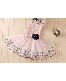 Tickles 4 U Princess Dress With Detachable Bow - Pink