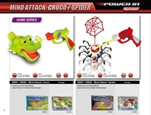 Spider Shooting Game 86681 3 Years +, A fun and exciting collection of remote controlled toy
