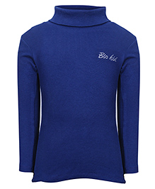 bio kid Full Sleeves Sweat Top - Dark Blue