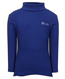 bio kid Full Sleeves Sweat Top - Dark Blue