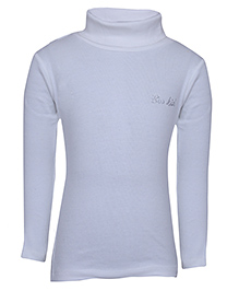 bio kid Full Sleeves Sweat Top - Off White