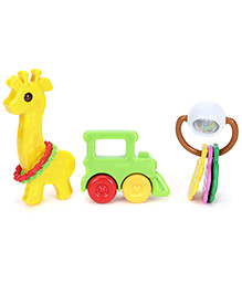 Funskool Giggles Rattle Combo - Set Of 3
