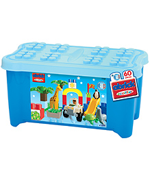 Ecoiffier Maxi Abrick Zoo Toy Chest - Multicolor