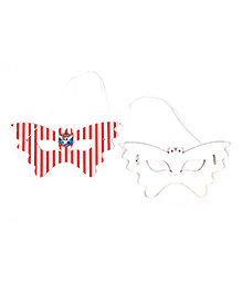 Funcart Pirate Party Theme Eye Mask - Pack Of 6
