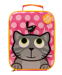 Tum Tum Insulated Lunch Bag Bluebell - Pink