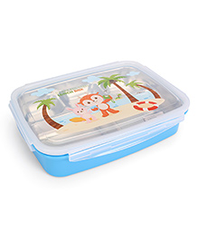 Multipurpose Stainless Steel Lunch Box - Blue