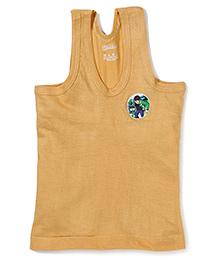 Ben 10 Printed Sleeveless Vest - Yellow