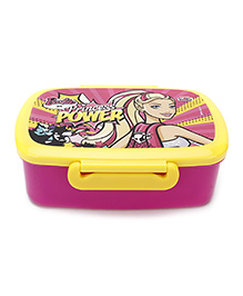 Barbie Princess Power Lunch Box - Purple And Yellow