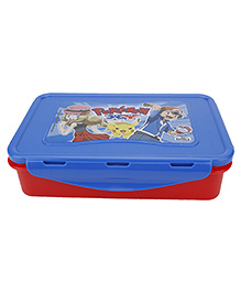 Pokemon Lunch Box - Blue And Red