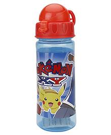 Pokemon Sipper Water Bottle Blue - 500 Ml